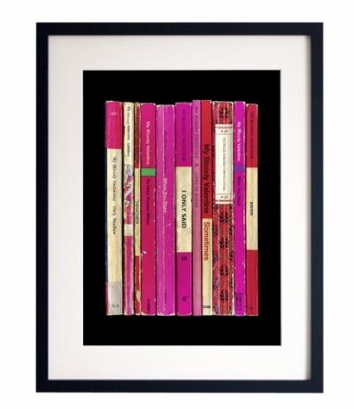 Plakát My Bloody Valentine, hedvábný papír 200 g, cena 600 Kč, www.etsy.com