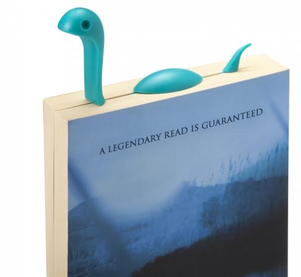 Silikonová knižní záložka Nessie, cena 199 Kč, www.luckies.co.uk