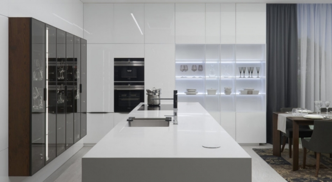 Prémiová moderní kuchyně HANÁK (FOTO: HANÁK NÁBYTEK)
