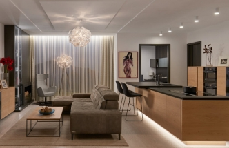 Nové luxusní interiéry zařízené dle INTERIOR CONCEPTU HANÁK. (FOTO: HANÁK NÁBYTEK)