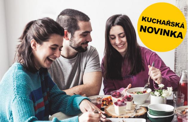 Knižní novinka: Kuchařka pro teenagery