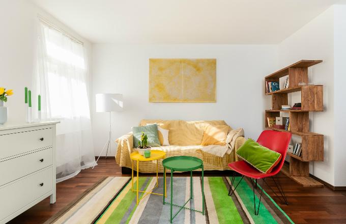 Jaro: Obývací pokoj v boho stylu (foto: Balakryl)