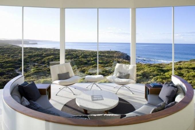 Southern Ocean Lodge, Klokaní ostrov, Austrálie
