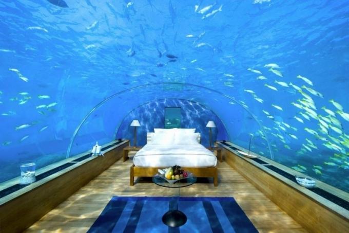 Podmořská vila The Muraka, Maledivy