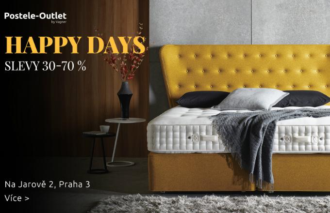 Pozvánka na HAPPY DAYS v Outlet by Vagner