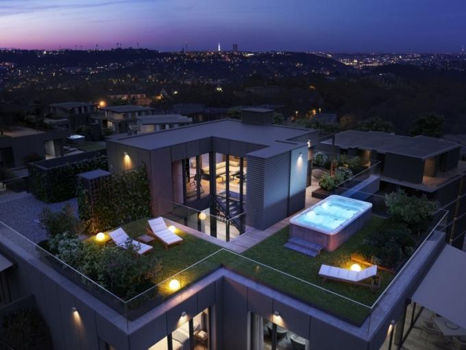 top'rezidence Pomezí - penthouse