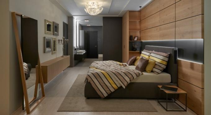 Ložnice, koupelnový nábytek a interiérové dveře HANÁK FOTO: HANÁK NÁBYTEK