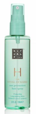 Ochranný sprej na vlasy: Karma sun protection hair spray