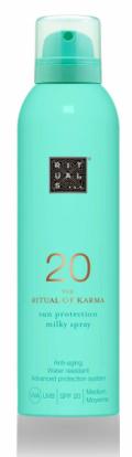 Mléko na opalování ve spreji 20: Karma sun protection milky spray 20