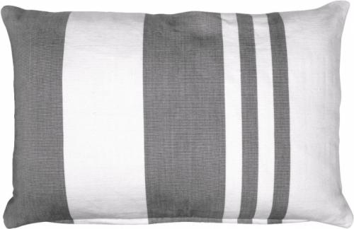 Povlak Raita, šedý, 100% bavlna, 40 x 60 cm, cena 655 Kč