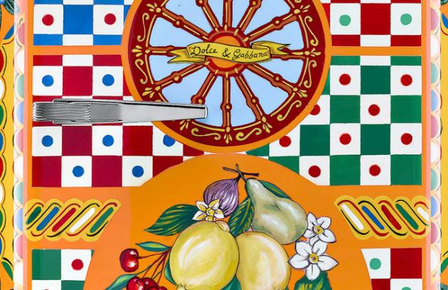 Dolce and Gabbana a Smeg představili na letošním milánském veletrhu Salone del Mobile společnou kolekci kuchyňských spotřebičů Sicily is my love.