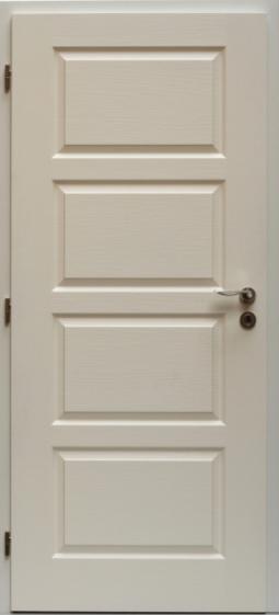 Interiérům stále kralují bílé dveře