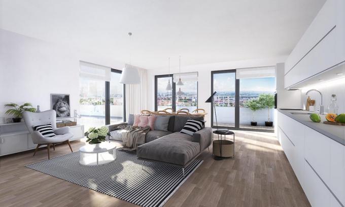 Finský styl bydlení znamená především sepětí s přírodou. To se promítá do promyšlené severské architektury s využitím přírodních materiálů - Koru Vinohradská