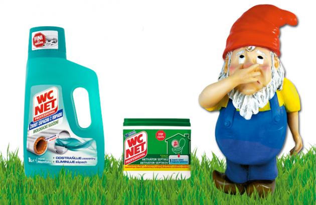 Řešíte problém s ucpaným septikem a nevíte si rady? Použijte WC NET Aktivátor septiků. Jedná se o biologický aktivátor septiků, který odstraňuje zápach a zlepšuje činnost septiku.