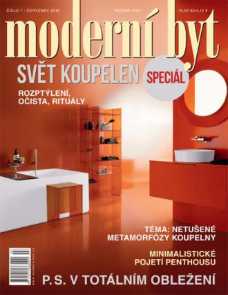 Nové číslo časopisu Moderní byt