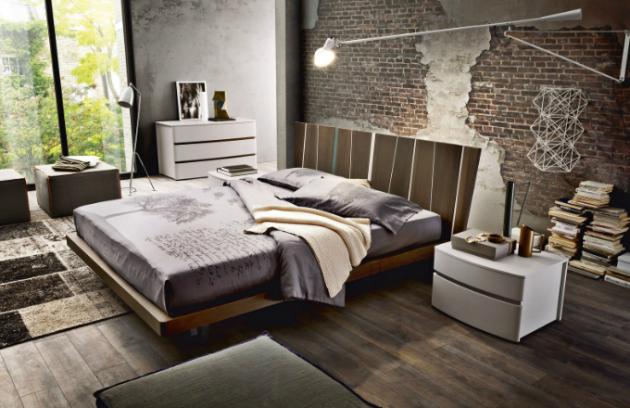 Postel Shangai (Zanette), dřevo nebo materiál open-pore, více rozměrů, 180 × 200 cm, cena od 61 166 Kč, WWW. CSKARLIN. CZ