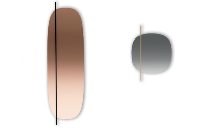 Nástěnná zrcadla z kolekce Vanity (Calligaris) jsou inspirována umírněným modernismem 50. let 20. století. Jejich hladký povrch narušuje procházející kovová tyč, která bezostyšně rozbíjí formální kontinuitu, a vytváří tak výrazný dekorativní efekt. Dostupné ve více velikostech a barevných provedeních. Design Busetti Garutti Redaelli, cena na dotaz, WWW. RIMEXOL.CZ