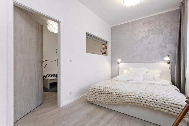 Plné dveře (Sepos), dekor bílý jilm (CPL), obložková zárubeň Sepos, dekor bílá (CPL), kompletní cena 5 033 Kč,WWW. SEPOS. CZ