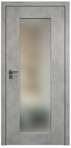 """Interiérům vládne industriální styl. Proto SAPELI rozšířilo portfolio CPL laminovaných dveří o dekor beton šedý váš, který industriální interiér dovede k dokonalosti. Pokud jsou na vás """"betonové dveře"""" příliš odvážné, ale šedé barvě fandíte, vyberte si v dekorech dřevěných. V řadě šedých CPL dveří je nově také dekor dubu zimního ve vodorovné i horizontální podobě. Cena dveří TALIA 40 v dekoru beton šedý je 6 190 Kč bez DPH (bez kování a zárubně)."""