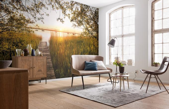 Vliesová fototapeta Lakeside (Komar), 368 × 248 cm, cena 1 799 Kč, www.tapety-samolepky.cz
