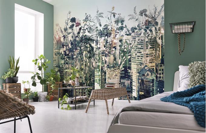Papírová fototapeta Urban Jungle (Komar), 368 × 254 cm, cena 1 199 Kč, www.tapetymetroflorenc.cz