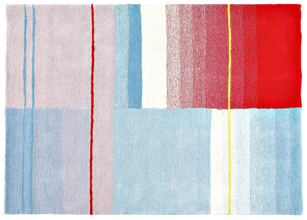 Tkaný koberec Colour (HAY), 170 × 240 cm, cena 21 350 Kč, www.designville.cz