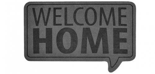 Polyesterová rohožka Welcome (Balvi), 45 × 70 cm, cena 345 Kč, www.naoko.cz