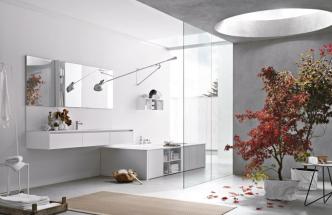 Nástěnná lampa 265 (Flos), design Paolo Rizzatto, IP20, lakovaná ocel, délka konstrukce 205 cm, cena 24 585 Kč, WWW. BULB. CZ