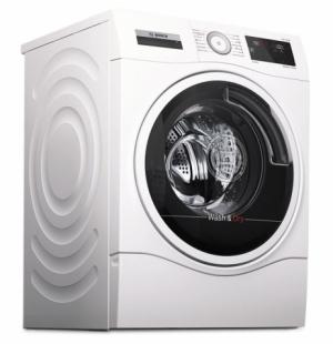 Pračka se sušičkou WDU28540EU – Serie 6 (Bosch), technologie AutoDry, kompletní cyklus pro 6 kg prádla, cena 26 990 Kč, WWW. BOSCH-HOME. COM/CZ