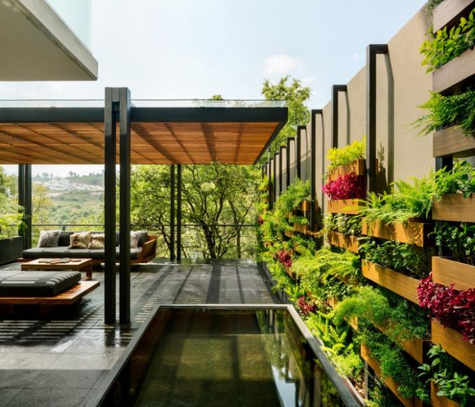 Autorem projektu Villa Jardín je studio ASP Arquitectura Sergio Portillo.