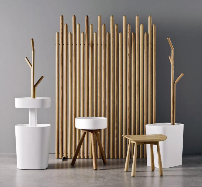 Fonte (Rexa design), design Monica Graffeo, jilmové masivní dřevo a corian, cena na dotaz, WWW. REXADESIGN. IT