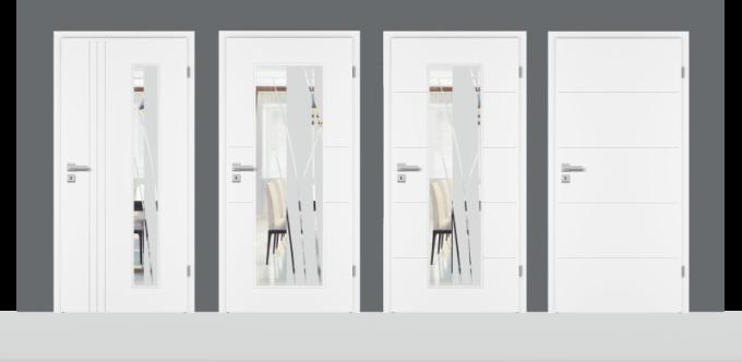 Novinkou je i modelová řada Royal 4D. Tato řada dveří s ozdobnou V-drážkou a oblou hranou na dveřním křídle vycházející z modelové řady Royal 2D vnese punc elegance do každého interiéru.