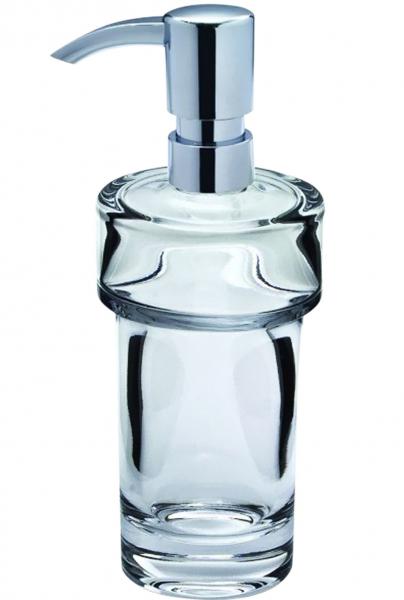 Dávkovač tekutého mýdla Concept 100 (Concept) z čirého skla, bez držáku, cena 401 Kč bez DPH