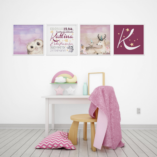 Dětský pokoj, který probudí v dětech hravost (www.omama-shop.de)
