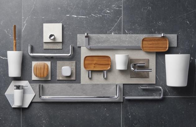 Každý element ze série Eternity (Vitra Bathroom) obstojí jako solitér azároveň dokonale interaguje sostatními, apodílí se tak naharmonii celku.  Elegantní oblé linie, nadčasové spojení přírodního dřeva, kovu, neutrálních odstínů ajemných detailů jsou zárukou krásy, která neomrzí sólo ani veskupině.