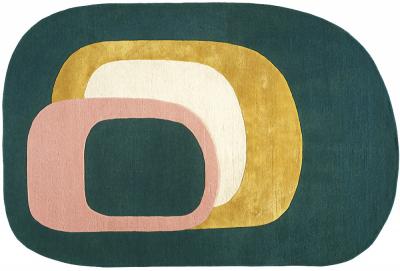 Ručně tkaný koberec Spirit (Toulemonde Bochart), design Géraldine Prieur, vlna a hedvábí, 170 × 240 až 250 × 350 cm, cena od 36 808 Kč, WWW.AREDA.CZ