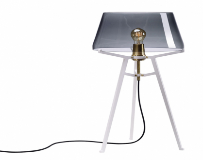 Ella (Tonone), design Anton De Groof, ocel a ručně foukané české sklo, cena 30 322 Kč, WWW.LIGHTWORKS.CZ
