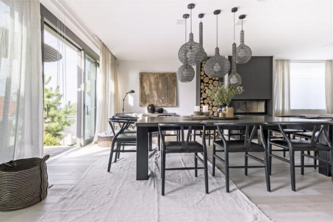 Zařízení otevřeného obývacího pros
