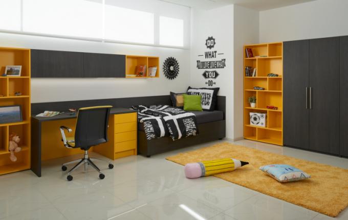 HANÁK - dětský pokoj žlutý