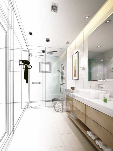 Odborné vzdělání a široké profesionální zkušenosti umožňují specialistům koupelnových studií Ptáček realizovat řešení i v mnohdy stavebně nesnadných podmínkách