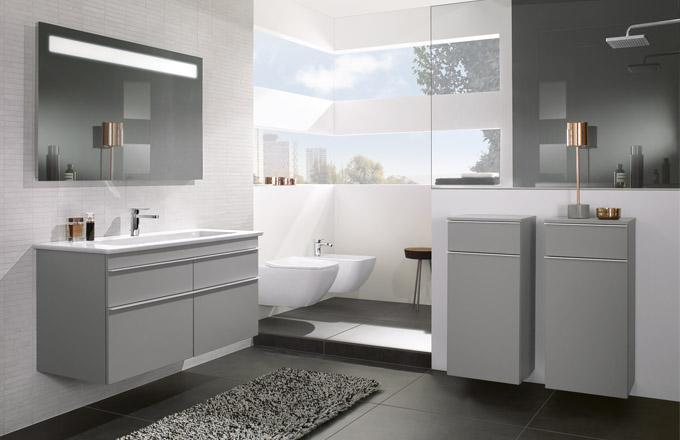 Expozice koupelnových zařizovacích předmětů nabízí spoustu inspirativních nápadů, které můžete využít k zařízení vlastní koupelny
