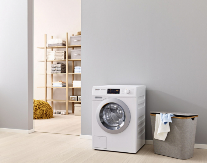 Pračka WCG130 XL (Miele), dávkovač pracích prostředků a aviváže CapDosing, cena 30 990 Kč, WWW. MIELE. CZ