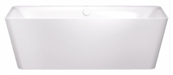 Volně stojící ocelová vana z řady Inkava (Kaldewei), zušlechtěná povrchem Perl Effekt, kombinace měkce tvarované vnitřní části a geometrickou vnější, smaltovaný integrovaný kryt odtoku a přepadu, cena od 182 000 Kč, WWW. KALDEWEI. CZ