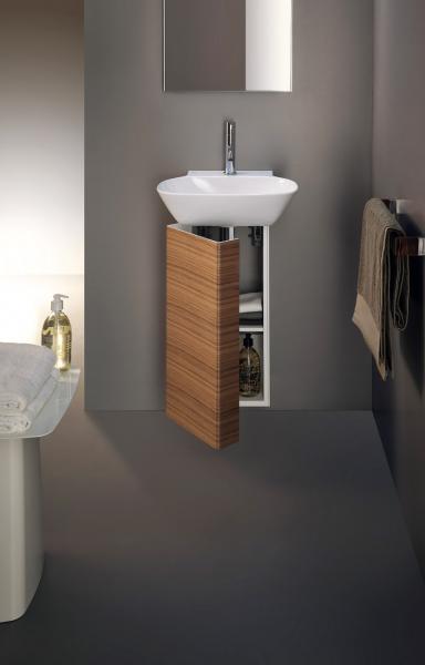 Koupelnová skříňka z minimalistické série INO (Laufen) včetně instalačního setu a sifonu, praktické police, voděodolná, snadno udržovatelná, cena na dotaz, WWW. LAUFEN. CZ