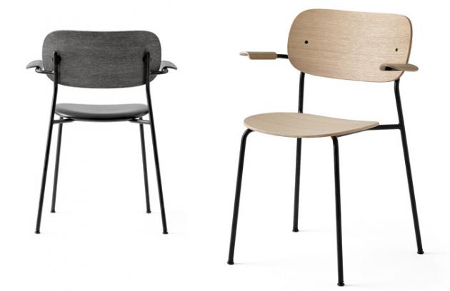 Židle Co (Menu) byla navržena tak, aby vyhovovala široké škále interiérů aladila smnoha architektonickými styly. Přesto zůstává vsouladu sestetickým rukopisem autorů ze studia Norm Architects.