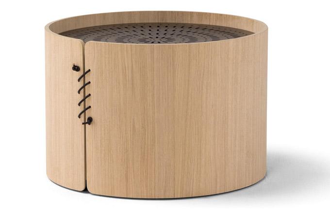 Konferenční stolky Setacci (Amura) jsou inspirovány síty namouku běžně používanými vzemědělské tradici italského města Altamura.
