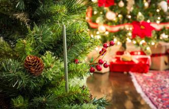 Představujeme intenzívní vůně pro vánoční stromeček s přírodním olejem z jehličí. Stačí jen zavěsit klacíky na stromeček, nebo je schovat do dekorace z větví a v tu ránu máte živý či umělý stromek se 100% autentickou vůní.