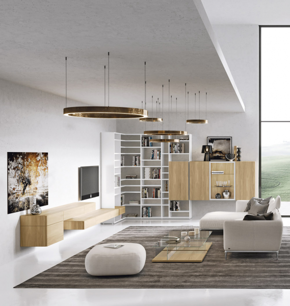 Nový koncept Neo (Hülsta), dle prostorových možností na míru, výběr materiálů, cena dle sestavy, WWW. HOMESTYLE. CZ