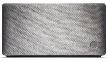 Reproduktorový systém Yoyo S (Cambridge Audio) obsahuje 2 celofrekvenční měniče, subwoofer a pasivní basový zářič, mikrofon, možnost ovládání gestem, rozměr 25 × 13 × 7 cm, cena 4 990 Kč, WWW.L-E.CZ