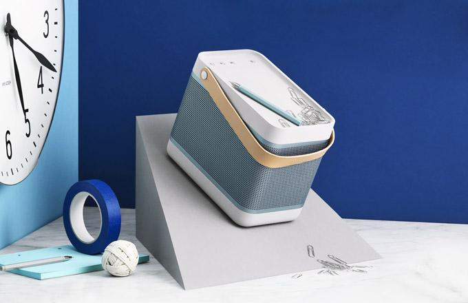Reproduktor Beolit 15 (BO), 2× 35 W, Bluetooth 4.0, USB, mini USB a 3,5mm jack, rozměr 23 ×19 × 13 cm, cena 12 890 Kč, WWW.ALZA.CZ